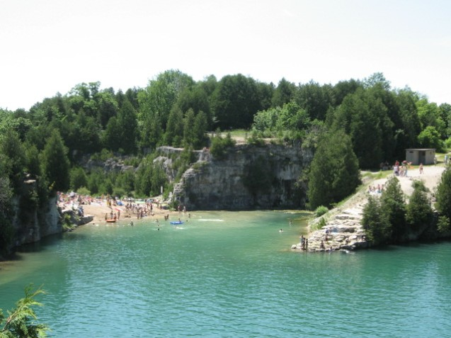 Image result for elora quarry conservation area