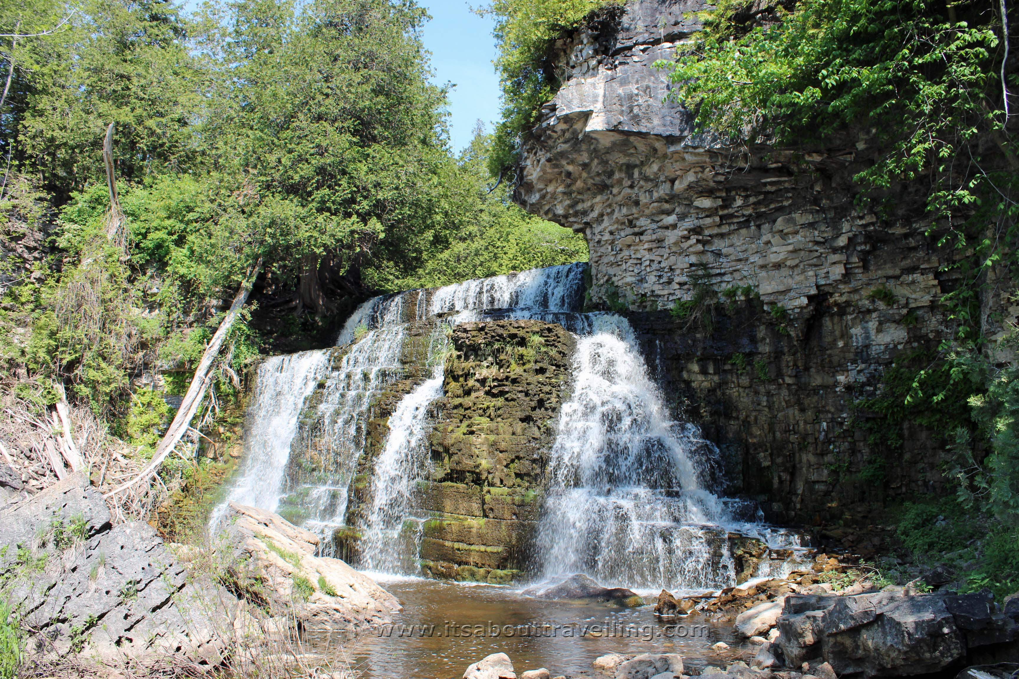 Jones Falls Near Owen Sound Ontario Canada Pic Of The Day